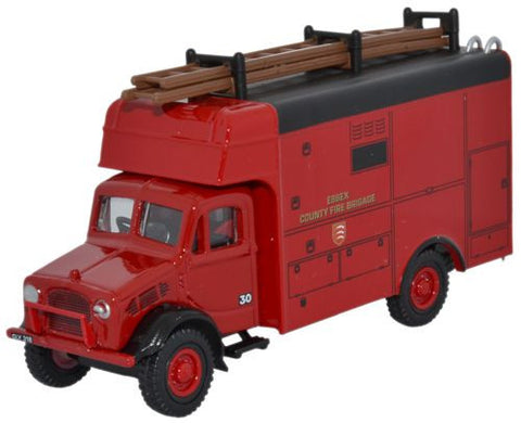 Oxford Diecast Essex Fire Brigade Bedford OW Luton - 1:76 Scale