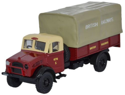 Oxford Diecast British Rail Bedford OY 3 Ton GS - 1:76 Scale