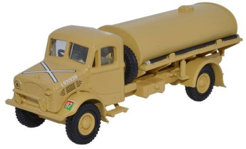 Oxford Diecast HQ Corps RASC Bedford OY 3 Ton Water Tanker - 1:76 Scal
