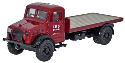 Oxford Diecast LMS Bedford OW Platform - 1:76 Scale