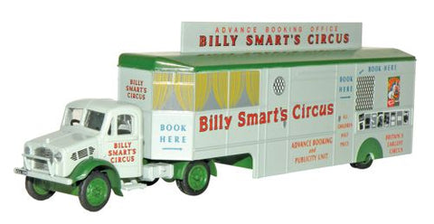 Oxford Diecast Bedford OX Booking Office Billy Smarts - 1:76 Scale