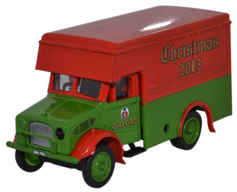 Oxford Diecast Bedford OX 30cwt Van Xmas 2013 - 1:76 Scale