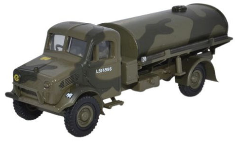 Oxford Diecast Bedford OYC Tanker Eastern Command 1941 - 1:76 Scale