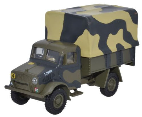 Oxford Diecast Bedford OXD GS Truck 1st Armoured Division 1941 - 1:76