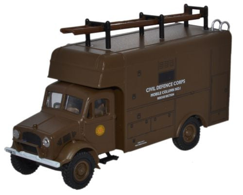 Oxford Diecast Bedford OY Van Civil Defence - 1:76 Scale