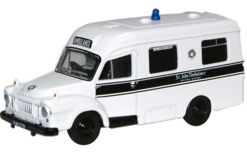 Oxford Diecast St John Ambulance Bedford J1 Ambulance - 1:76 Scale