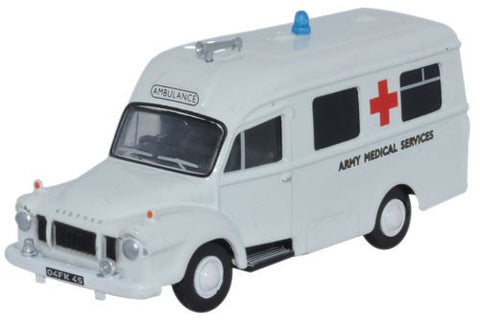 Oxford Diecast Bedford J1 Ambulance Army Medical Services - 1:76 Scale