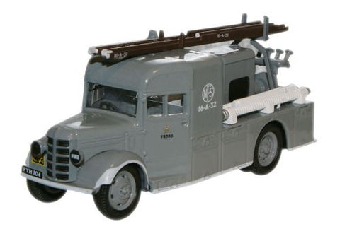 Oxford Diecast National Fire Service Bedford WLG Heavy Unit  - 1:76 Sc