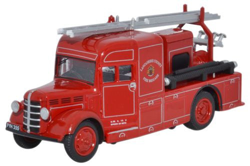 Oxford Diecast Bedford Heavy Unit Lancashire County Fire Brigade - 1:7