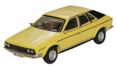 Oxford Diecast Snapdragon Yellow BL Princess - 1:76 Scale