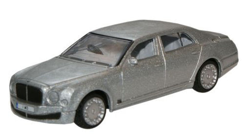 Oxford Diecast Moonbeam Bentley Mulsanne - 1:76 Scale