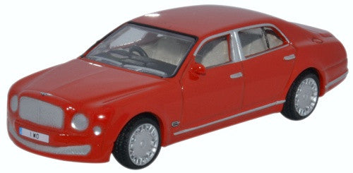 Oxford Diecast Bentley Mulsanne St James Red - 1:76 Scale