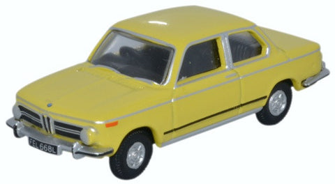 Oxford Diecast BMW 2002 Golf Yellow