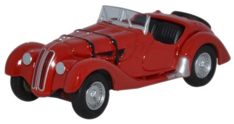 Oxford Diecast BMW 328 Red