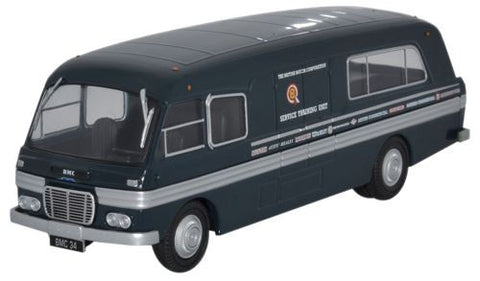 Oxford Diecast BMC Mobile Training Unit - 1:76 Scale