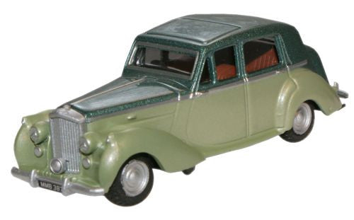 Oxford Diecast Balmoral Green Met./Ice Green Bentley MkVI - 1:76 Scale