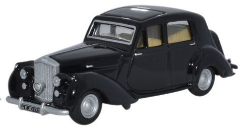 Oxford Diecast Bentley MkVI Black  - 1:76 Scale