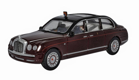 1:76 Scale 76BSL001 Bentley Royal Limousine from Oxford Diecast.