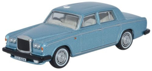 Oxford Diecast Bentley T2 Saloon  Caribbean Blue - 1:76 Scale