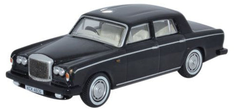 Oxford Diecast Bentley T2 Saloon Masons Black - 1:76 Scale