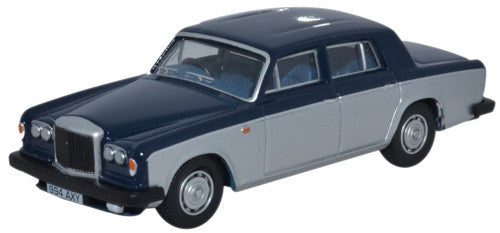 Oxford Diecast Bentley T2 Saloon Seychelles Blue Shell Grey