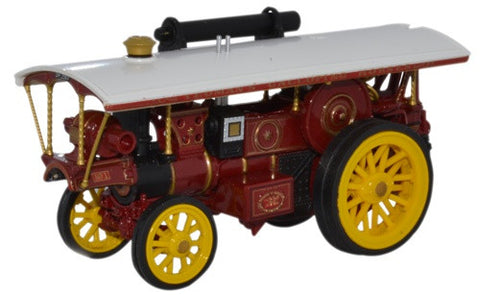 Oxford Diecast Burrell Showmans Loco No.1 - 1:76 Scale