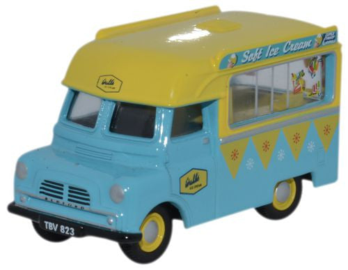 Oxford Diecast Bedford CA Ice Cream Walls - 1:76 Scale