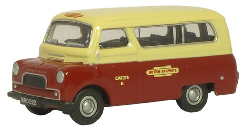Oxford Diecast British Rail Crew Bus - 1:76 Scale