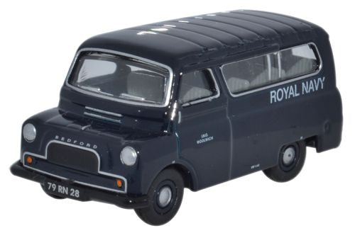 Oxford Diecast Bedford CA Minibus Royal Navy - 1:76 Scale