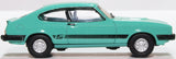 Oxford Diecast Ford Capri MKIII Peppermint Sea Green