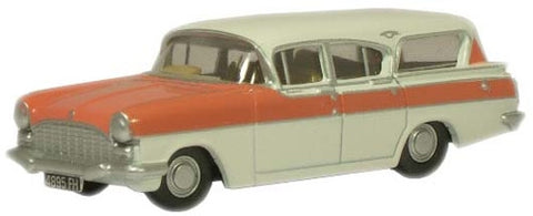 Oxford Diecast Mountain Rose/Swan White PA Cresta Friary Estate - 1:76