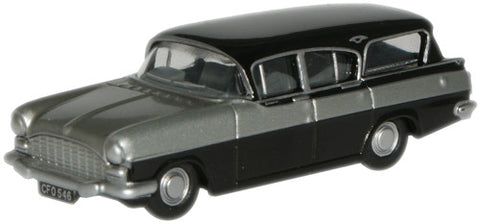 Oxford Diecast Silver Grey/Black Cresta Friary - 1:76 Scale