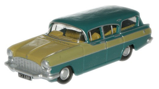 Oxford Diecast Glade Green and Honey Gold Cresta Friary Estate - 1:76