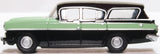 Oxford Diecast Vauxhall Cresta Friary Estate Versailles Green/black