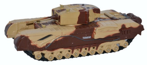 Oxford Diecast Churchill Tank MKIII Kingforce - Major King