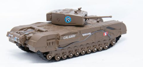 Oxford Diecast Churchill Tank MKIII 1st Canadian Army Bgd Dieppe 1942