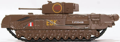 Oxford Diecast Churchill Tank 6th Guards Brigade 1943