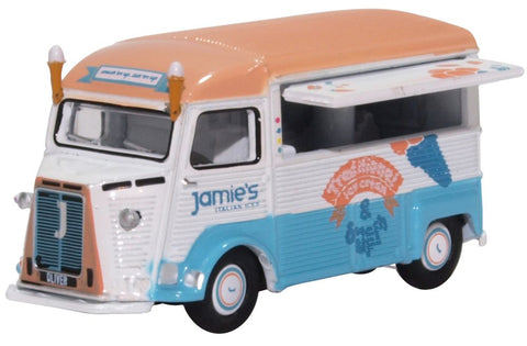 Oxford Diecast Citroen H Catering Van