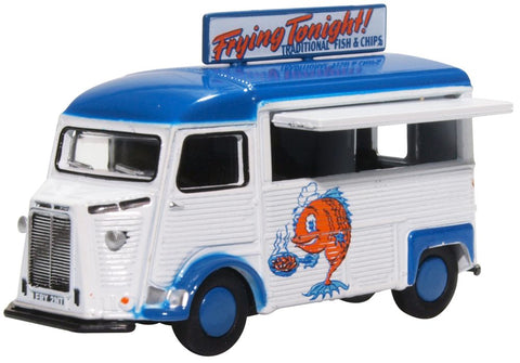 Oxford Diecast Citroen H Catering Van Fish & Chips