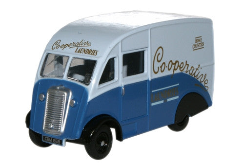 Oxford Diecast Co-op Laundry Commer Q25 Van - 1:76 Scale