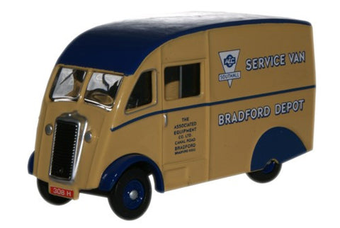 Oxford Diecast Commer Q25 AEC Southall Service Van - 1:76 Scale