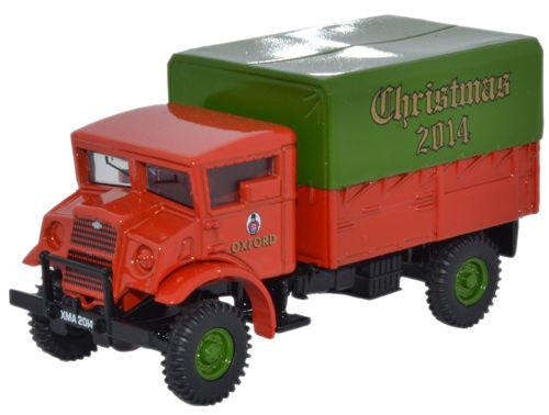 Oxford Diecast CMP LAA Tractor Xmas 2014 - 1:76 Scale