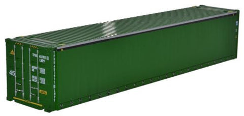 Oxford Diecast Container Green - 1:76 Scale