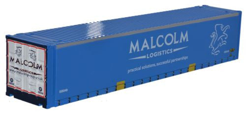Oxford Diecast Container WH Malcolm - 1:76 Scale