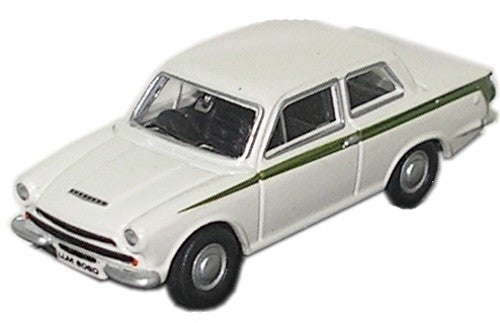 Oxford Diecast Cortina MK I White - 1:76 Scale