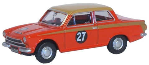 Oxford Diecast Ford Cortina MKI Red/Gold - 1:76 Scale
