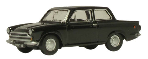 Oxford Diecast Savoy Black Ford Cortina MkI - 1:76 Scale