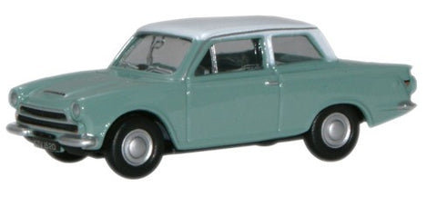 Oxford Diecast Lagoon White Ford Cortina MkI - 1:76 Scale