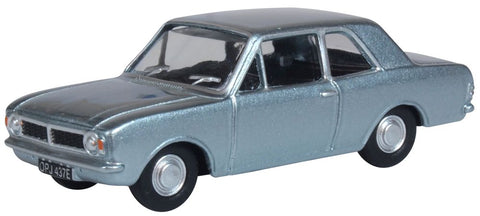 Oxford Diecast Ford Cortina MKII Blue Mink