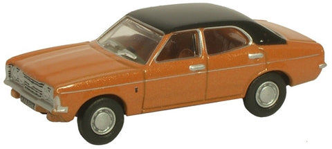 Oxford Diecast Ford Cortina MKIII Gold - 1:76 Scale